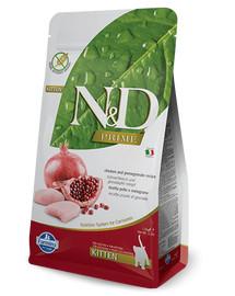 FARMINA N&D Cat Chicken & Pomegranate Kitten 1.5 kg